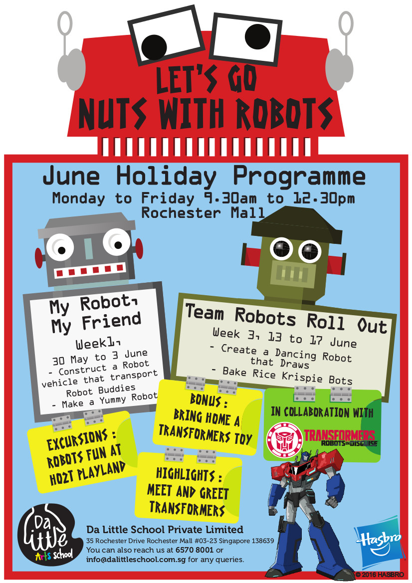 Transformers June Holiday Program
