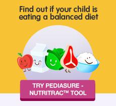 Try Pediasure Nutritrac Tool