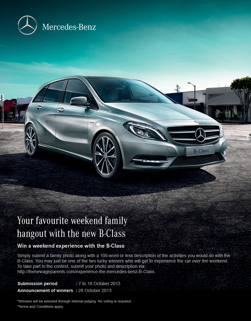 Experience The Mercedes Benz B Class