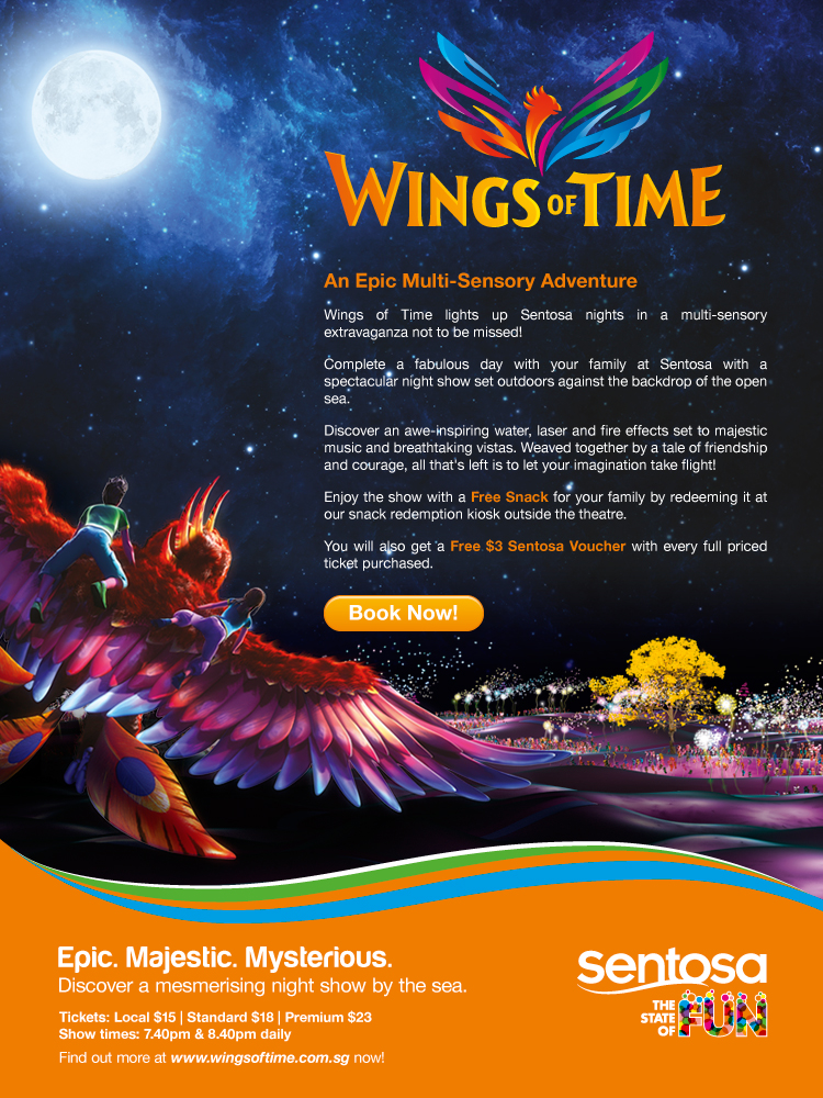Sentosa Wings of Time