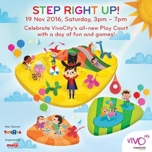 vivocitys all new play court