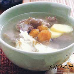 Mutton Soup with Dang Gui