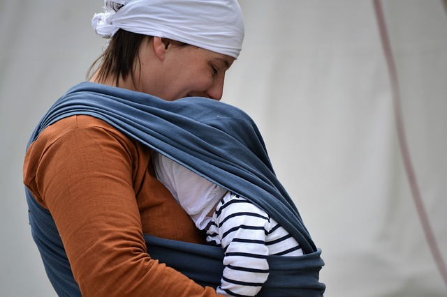 baby wearing