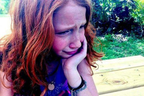 sharing childs sadness