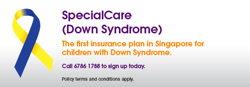 NTUC income insurance for children and youth with down syndrome