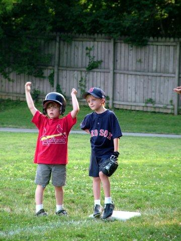 Baseball Children - photo by hortongrou