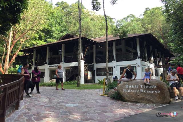 bukit timah nature reserve entrance