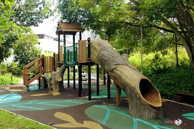 nature playground rumah tinggi