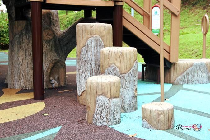 rumah tinggi tree playground