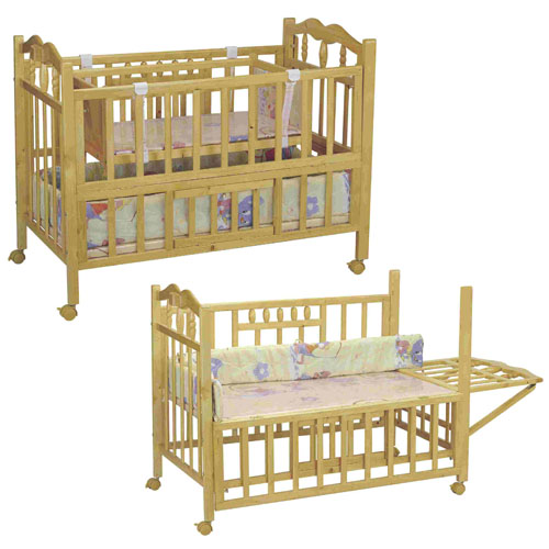 baby cot changing table