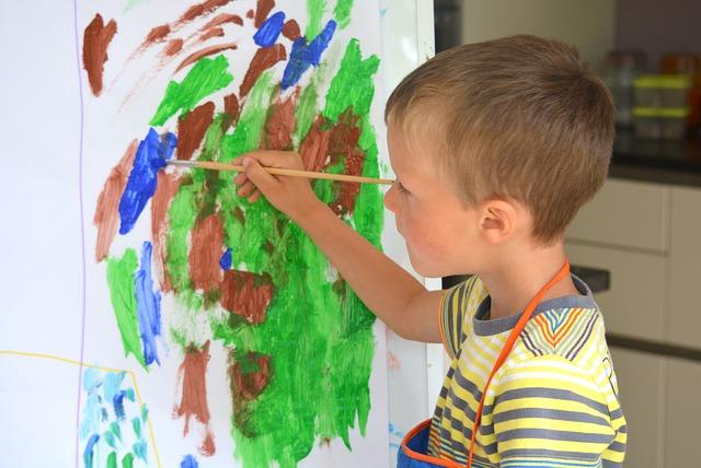 teaching children about art