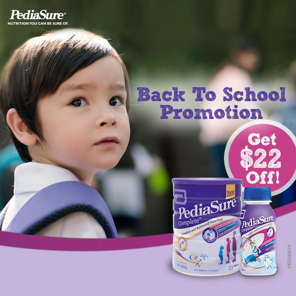 PediaSure Back To School Promotion