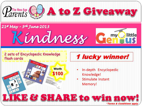 TNAP A-Z Contest Kindness My Little Genius