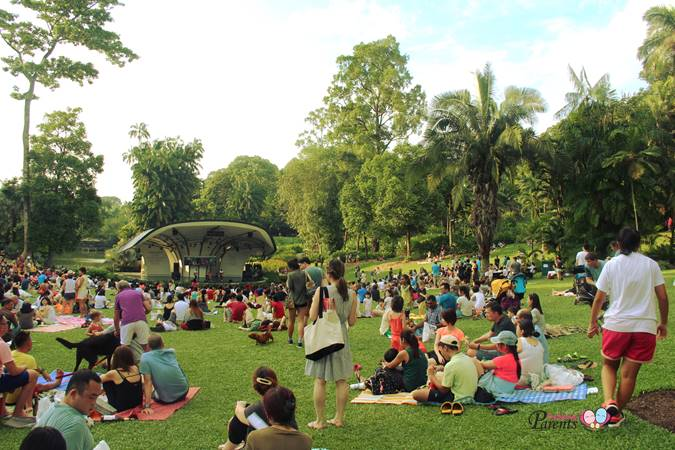 concert at botanical gardens