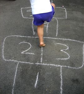 playing-hopscotch photo by vancity197