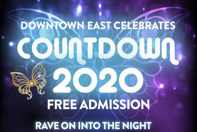 Downtown East Celebrates Countdown 2020