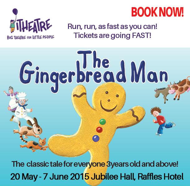 gingerbread man i theatre