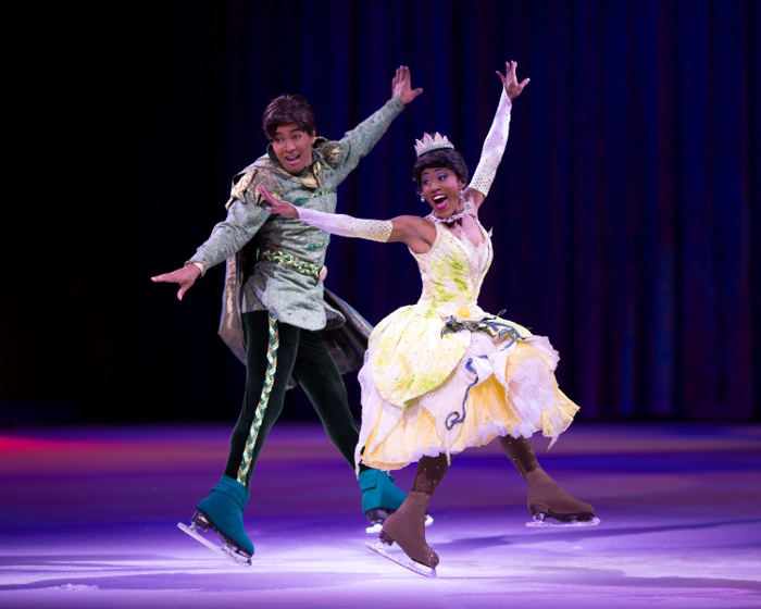 Disney on ice - Princess and the frog
