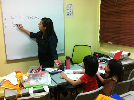 Basic Writing Class at Discovery Edu Cove
