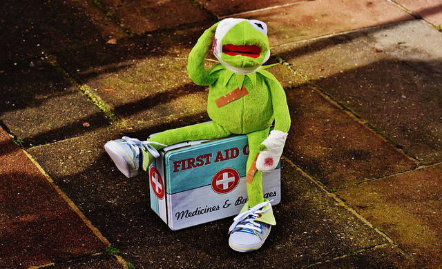 first aid kit at home