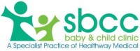 SBCC baby and child clinic logo