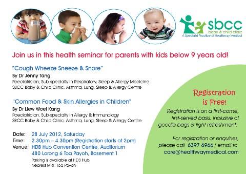 SBCC health seminar July 2012