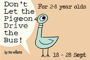dont let the pigeon drive the bus poster