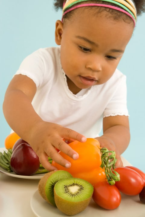 getting children to eat more fruits