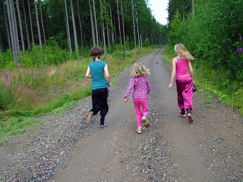 getting children to exercise