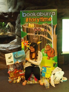 Sentosa storytelling at Underwater World