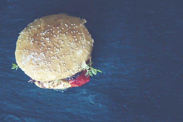 veggie vegan burger