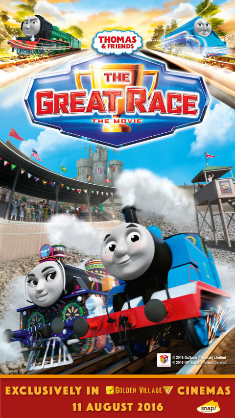 Thomas and Friends The Great Race Poster