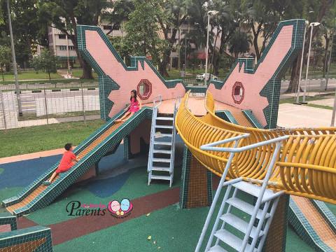 heritage dragon playground singapore