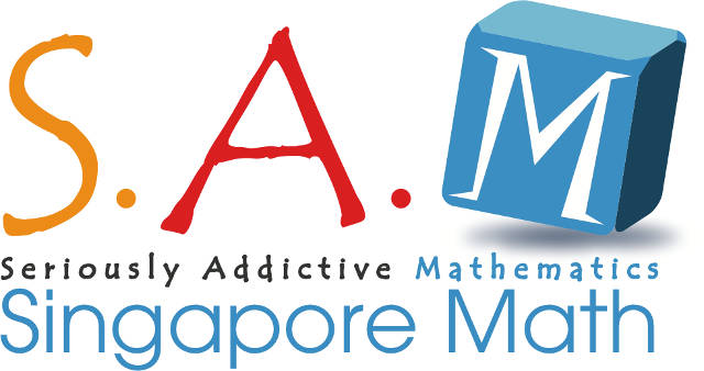 SAM Singapore Math logo