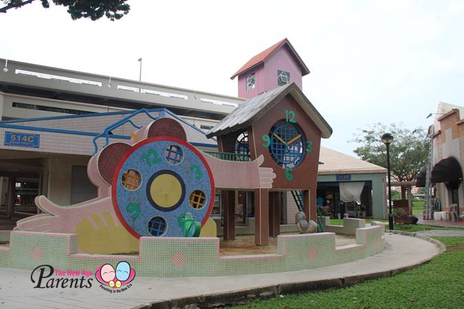 bishan clock playground