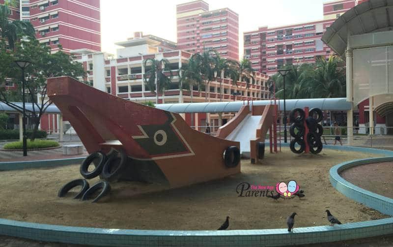 bumboat mosaic playground pasir ris