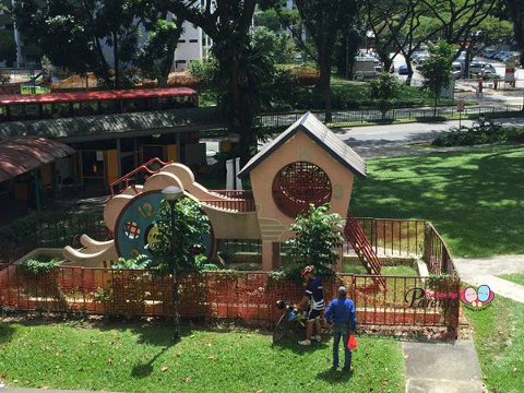 old clock playground boon lay