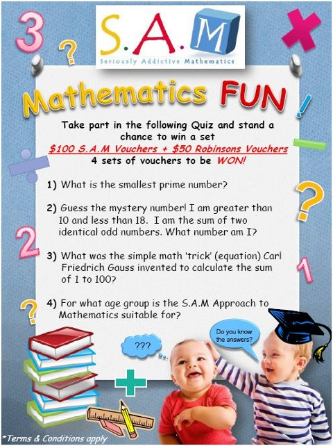 S.A.M Maths contest