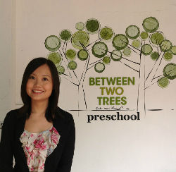 Teacher Yu Jie, Between Two Trees Preschool