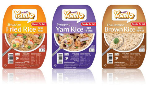 yamie rice ready to eat series