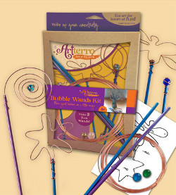 Bubble Wands Kit from Jam'n Muffin