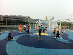 Free water play at NEX