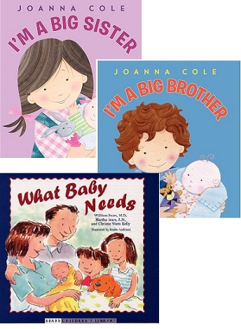 books for children about having a new sibling