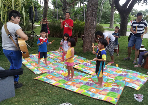 Sentosa Playcation Rhythm and Senses