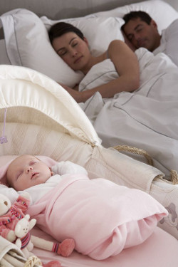 co sleeping or crib sleeping