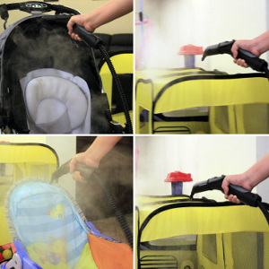 using karcher steam cleaner