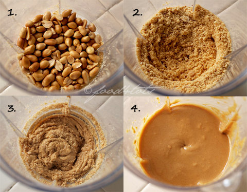 Homemade peanut recipe