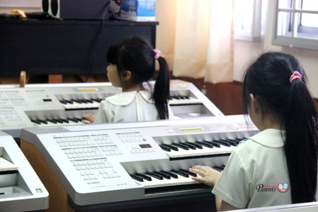 Kinderland keyboard lessons
