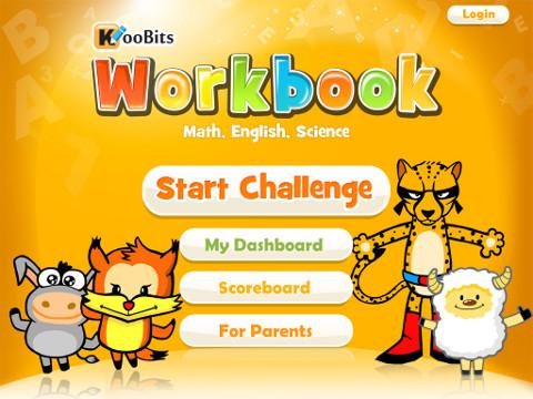 KooBits Workbook App