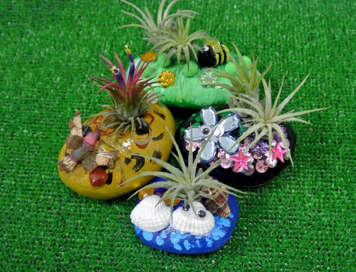 Plant art kids activity